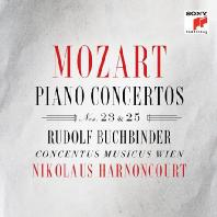 PIANO CONCERTOS NOS.23 & 25/ RUDOLF BUCHBINDER, NIKOLAUS HARNONCOURT