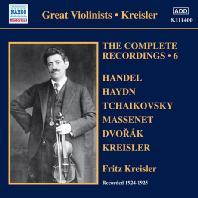 THE COMPLETE RECORDINGS VOL.6 1924-1925 [프리츠 클라이슬러: 레코딩 전집 6집]