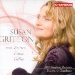 SINGS BRITTEN, FINZI, DELIUS/ SUSAN GRITTON