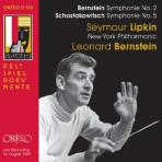 SYMPHONIE NO.2 & 5/ SEYMOUR LIPKIN, LEONARD BERNSTEIN