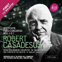 PIANO CONCERTOS NOS.4 & 5/ ROBERT CASADESUS, MALCOLM SARGENT [베토벤: 피아노 협주곡 4, 5번 <황제>| 로베르 카자드쉬]
