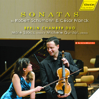 SONATAS/ BERLIN CHAMBER DUO [슈만: 바이올린 소나타, 가곡 편곡 & 프랑크: 바이올린 소나타 (비올라 편곡) | 베를린 체임버 듀오]