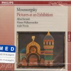 PICTURES AT AN EXHIBITION/ ALFRED BRENDEL/ ANDRE PREVIN
