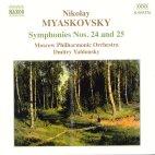 SYMPHONIES NOS.24 & 25/ DMITRY YABLONSKY