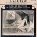 CLARINET QUARTETS AND SONATAS/ EDUARD BRUNNER