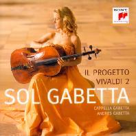 IL PROGETTO VIVALDI 2/ CAPPELLA GABETTA, ANDRES GABETTA [솔 가베타: 비발디 첼로 협주곡집 2]