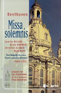 MISSA SOLEMNIS/ STAATSKAPELLE DRESDEN