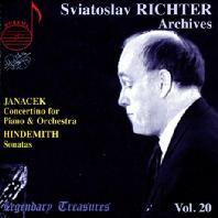 CONCERTINO FOR PIANO & ORCHESTRA/ SVIATOSLAV RICHTER [SVIATOSLAV RICHTER VOL.20]
