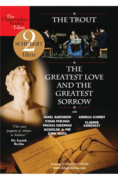 THE TROUT: THE GREATEST LOVE AND THE GREATEST SORROW/ JACQUELINE DU PRE [슈베르트 송어: 재클린 뒤 프레]