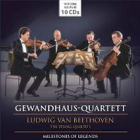 THE STRING QUARTETS/ GEWANDHAUS-QUARTETT [베토벤: 현악사중주 전곡 - 게반트하우스 사중주단]