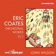 ORCHESTRAL WORKS VOL.2/ JOHN WILSON [에릭 코츠: 관현악 작품 2집 - 존 윌슨]