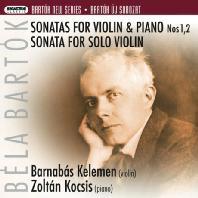 SONATAS FOR VIOLIN & PIANO NOS 1,2/ BARNABAS KELEMEN, ZOLTAN KOCSIS [SACD HYBRID]