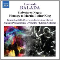 SINFONIA EN NEGRO: HOMAGE TO MARTIN LUTHER KING/ EDMON COLOMER
