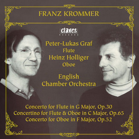 FLUTE & OBOE CONCERTOS/ ENGLISH CHAMBER ORCHESTRA, PETER-LUKAS GRAF, HEINZ HOLLIGER
