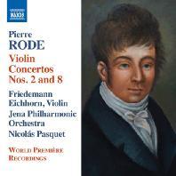 VIOLIN CONCERTOS NOS.2 & 8/ FRIEDEMANN EICHHORN, NICOLAS PASQUET [로드: 바이올린 협주곡, 변주곡]