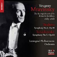 SYMPHONY NO.4 & NO.5/ YEVGENY MRAVINSKY [SACD HYBRID] [브람스: 교향곡 4번 & 차이코프스키: 교향곡 5번]