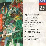 THE 5 PIANO CONCERTOS/ VLADIMIR ASHKENAZY, ANDRE PREVIN [프로코피에프: 피아노 협주곡 - 아쉬케나지 & 프레빈]
