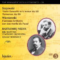 VIOLIN CONCERTOS/ BARTLOMIEJ NIZIOL, LUKASZ BORWICZ [낭만주의 바이올린 협주곡 20: 스토조프스키 & 비에냐프스키]