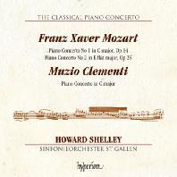 THE CLASSICAL PIANO CONCERTO 3/ HOWARD SHELLY [고전주의 피아노 협주곡 3집: F.X 모차르트 & 클레멘티 - 하워드 셸리]
