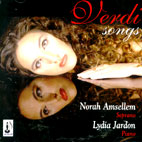 SONGS/ NORAH AMSELLEM/ LYDIA JARDON