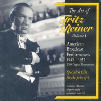 THE ART OF FRITZ REINER, VOL.1