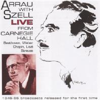 PIANO CONCERTO/ CLAUDIO ARRAU, GEORGE SZELL