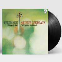 12 FANTASIAS FOR VIOLIN SOLO/ ARTHUR GRUMIAUX [아르투르 그뤼미오: 텔레만 12개의 무반주 바이올린 환상곡] [ANALOGPHONIC 180G LP]