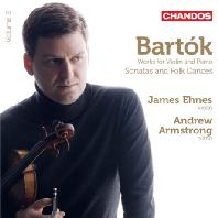 WORKS FOR VIOLIN AND PIANO VOL.2/ JAMES EHNES, ANDREW ARMSTRONG [바르톡: 바이올린 작품 2집 - 제임스 에네스]