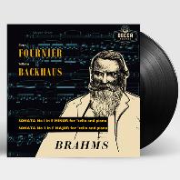 SONATAS FOR CELLO AND PIANO/ PIERRE FOURNIER, WILHELM BACKHAUS [브람스: 첼로 소나타 - 푸르니에, 박하우스] [ANALOGPHONIC 180G LP]]
