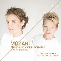 PIANO AND VIOLIN SONATAS/ VINETA SAREIKA, AMANDINE SAVARY [모차르트: 바이올린 소나타 - 비네타 사레이카]