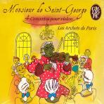 4 CONCERTOS POUR VIOLON/ ORCHESTRE LES ARCHETS DE PARIS