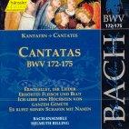 CANTATAS BWV172-175/ HELMUTH RILLING