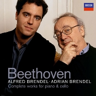 COMPLETE WORKS FOR PIANO & CELLO/ ALFRED BRENDEL, ADRIAN BRENDEL [베토벤: 첼로 소나타 전곡 - 아드리안 & 알프레드 브렌델]