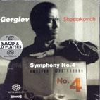 SYMPHONY NO.4/ KIROV ORCHESTRA/ GERGIEV (SACD)