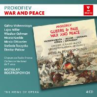 WAR AND PEACE/ MSTISLAV ROSTROPOVICH [THE HOME OF OPERA] [프로코피에프: 전쟁과 평화 - 로스트로포비치]