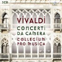 COMPLETE CHAMBER CONCERTOS/ COLLEGIUM PRO MUSICA