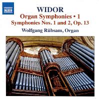 ORGAN SYMPHONIES 1/ WOLFGANG RUBSAM [비도르: 오르간 교향곡 작품 1집 - 볼프강 뤼브잠]