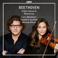 VIOLIN CONCERTO, ROMANCES/ LENA NEUDAUER, MARCUS BOSCH [베토벤: 바이올린 협주곡, 로망스 1 & 2번 - 레나 노이다우어]