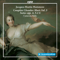 COMPLETE CHAMBER MUSIC VOL.3, SUITES OPP.4, 5 & 6/ CAMERATA KOLN [오테테르: 실내악곡 전집 3집 - 카메라타 쾰른]