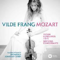 VIOLIN CONCERTO 1 & 5/ VILDE FRANG, MAXIM RYSANOV, JONATHAN COHEN [모차르트: 바이올린 협주곡 1, 5번]