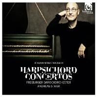 HARPSICHORD CONCERTOS/ ANDREAS STAIER [바흐: 하프시코드 협주곡]
