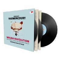 WALZER REVOLUTION/ NIKOLAUS HARNONCOURT [모차르트, 슈트라우스, 라너: 왈츠 레볼루션 - 아르농쿠르] [180G LP] [한정반]