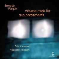 VIRTUOSO MUSIC FOR TWO HARPSICHORDS/ ALESSANDRO DE MARCHI