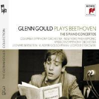 PLAYS BEETHOVEN [GLENN GOULD COLLECTION 10] [베토벤: 피아노 협주곡 1-5번 | 글렌 굴드]