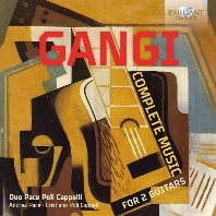 COMPLETE MUSIC FOR 2 GUITARS/ DUO PACE POLI CAPPELLI [간지: 두 대의 기타를 위한 작품 전곡 - 파체 폴리 카펠리 이중주단]