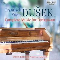 MUSIC FOR FORTEPIANO/ MARIUS BARTOCCINI [두세크: 포르테피아노를 위한 작품 전곡 - 마리우스 바르토치니]