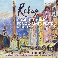 COMPLETE MUSIC FOR CLARINET, FLUTE & GUITAR/ ESTESO TRIO [레바이: 클라리넷과 플루트, 기타를 위한 삼중주 전곡 - 에스테소 삼중주단]