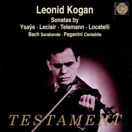 SONATAS BY YSAYE LECLAIR TELEMANN LOCATELLI, ETC