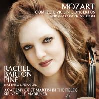 COMPLETE VIOLIN CONCERTOS/ RACHEL BARTON PINE, NEVILLE MARRINER [모차르트: 바이올린 협주곡 전곡]