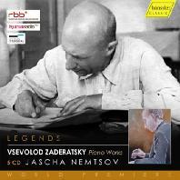 PIANO WORKS/ JASCHA NEMTSOV [자데라츠키: 피아노 작품집 - 야샤 넴초프]
